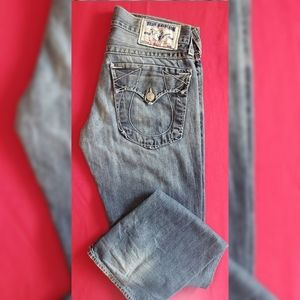 Straight leg true religion Jean's